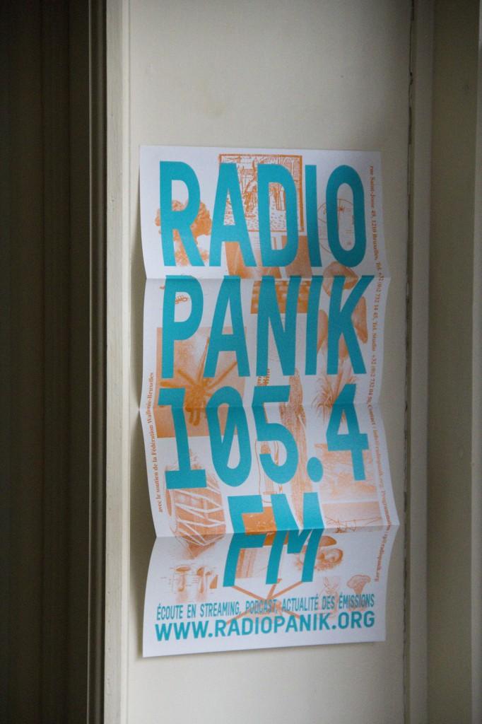 Radio Panik Programme (Cover)